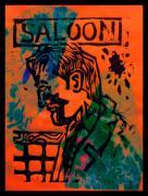 Saloon Print by Adam Kissel