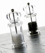 Grinders Photos - Salt And Pepper Mills by Mark Sykes