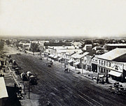 Carriage Road Photos - Salt Lake City - Commercial Street - c 1879 by International  Images