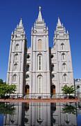 Salt Lake Mormon Temple Print by Gary Whitton