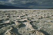 Panamint Valley Photos - Salt Pan Stretches To The Horizon by Gordon Wiltsie
