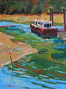Salt Air Paintings - Salt Spring Island by Alfred Currier