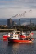 Fishing Trawler Prints - Saltburn, Teesside, England Boats Print by John Short