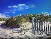 Cape Cod Pastels Originals - Salty wind by Laura Craciun