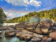 Jenny Ellen Photography - Saluda River Rocks