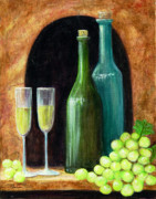 White Grapes Paintings - Salute by Pauline Ross