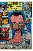 Kelly Pastels Originals - Salvador Dali New Life With The Best Possible Biowife by Francesco Martin
