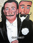 Dali Paintings - Salvador Dali by Tom Roderick
