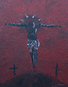 Jesus Art Paintings - Salvation by Dwayne Glapion