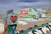 Salvation Mountain Posters - Salvation Mountain California 2 Poster by Bob Christopher