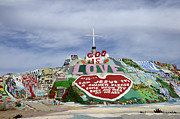 Salvation Mountain Posters - Salvation Mountain California 3 Poster by Bob Christopher
