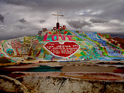 Salvation Mountain Posters - Salvation Mountain Poster by Melisa Fretwell