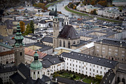 City Scape Metal Prints - Salzburg  Metal Print by Anthony Citro