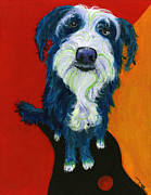 Pooch Paintings - Sam by Debbie Brown