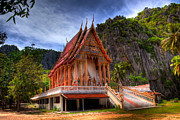 National Park Digital Art - Sam Roi Yot Temple by Adrian Evans