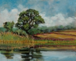 Wineries Painting Prints - Same Old Tree Print by Robert James Hacunda