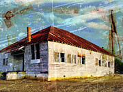 Abandoned School House. Framed Prints - Same Old Used To Be Framed Print by Dominic Piperata