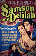 Hedy Framed Prints - Samson And Delilah, Hedy Lamarr, Victor Framed Print by Everett
