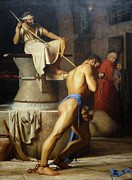 Bloch Prints Paintings - Samson and the Philistines by Pg Reproductions