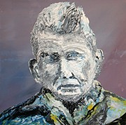Novelist Paintings - Samual Beckett by Gerard Dillon