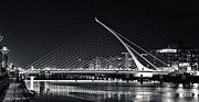 Dublin Pyrography - Samuel Beckett Bridge by Ana Martinez