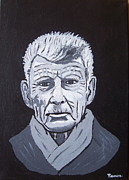 Eamon Reilly Posters - Samuel Beckett Poster by Eamon Reilly
