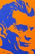 Samuel Beckett Print by John  Nolan