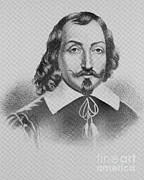 Champlain Posters - Samuel De Champlain Poster by Photo Researchers