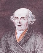 Samuel Framed Prints - Samuel Hahnemann 1755-1843, The German Framed Print by Everett