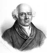 Historical Physician Framed Prints - Samuel Hahnemann, German Physician Framed Print by Science Source