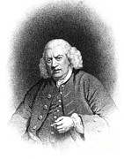 Dictionary Prints - Samuel Johnson, English Author Print by Photo Researchers