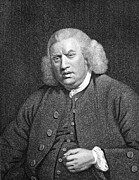 The Language Posters - Samuel Johnson, English Lexicographer Poster by Middle Temple Library
