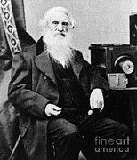 Electrical Engineer Prints - Samuel Morse, American Inventor Print by Science Source