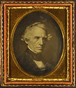 Samuel Photo Framed Prints - Samuel Morse, Us Inventor Framed Print by Library Of Congress