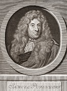 Samuel Photo Framed Prints - Samuel Pufendorf, German Jurist Framed Print by Middle Temple Library