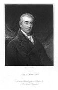 Romilly Posters - Samuel Romilly (1757-1818) Poster by Granger
