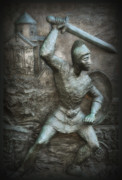 Philadelphia Metal Prints - Samurai Warrior Metal Print by Bill Cannon