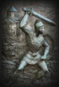 Samurai Warrior Print by Bill Cannon