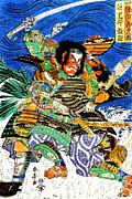 Samurai Warriors Battle 1819 Print by Padre Art
