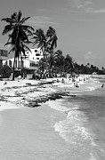 Colombian Framed Prints - San Andres Island Beach View Framed Print by John Rizzuto