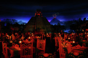 Disney Art - San Angel Inn Mexico by David Lee Thompson