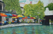 Riverwalk Originals - San Antonio Riverwalk by Cheryl Green