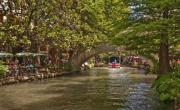 Riverwalk Photo Prints - San Antonio Riverwalk Print by Steven Sparks