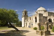 19th Century Architecture Prints - San Antonio, Texas, Mission San Jose Print by Richard Nowitz