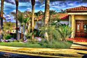 Clemente Digital Art Originals - San Clemente Estate 3 by Kathy Tarochione