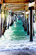 Clemente Photo Prints - San Clemente Pier Print by Rosanne Nitti