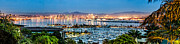 Photogaph Art - San Diego Bay Panoramic by Josh Whalen