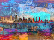 Coastline Mixed Media - San Diego by Irina Hays
