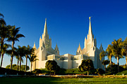 Lds Art - San Diego Towers by La Rae  Roberts