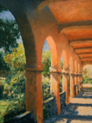 Albuquerque Paintings - San Felipe Arches by Brett Sizemore